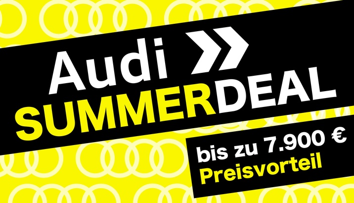 Audi SUMMERDEAL